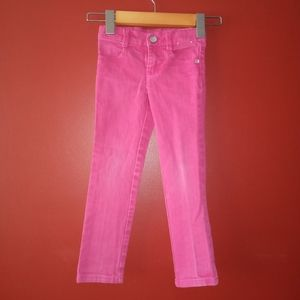 Pink Gymboree Jeans Sz 4 Slim